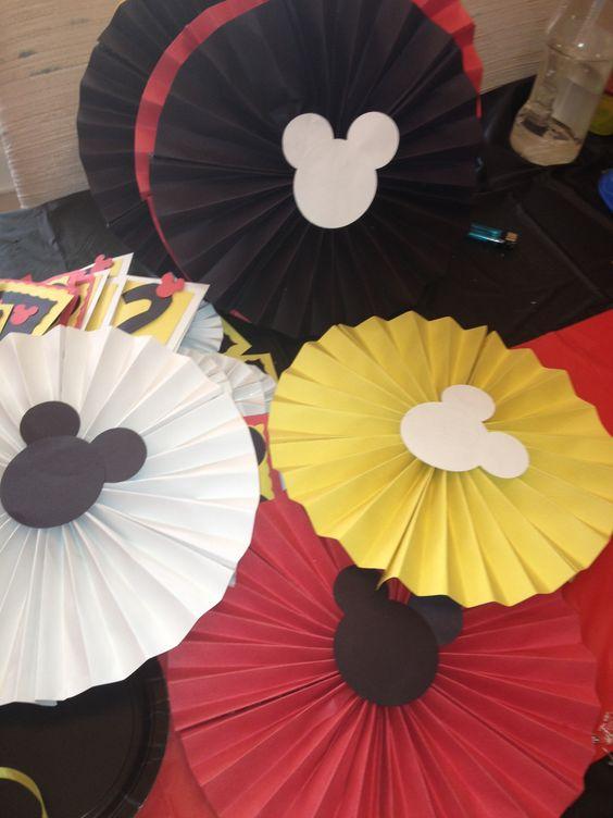 Mickey decorations!