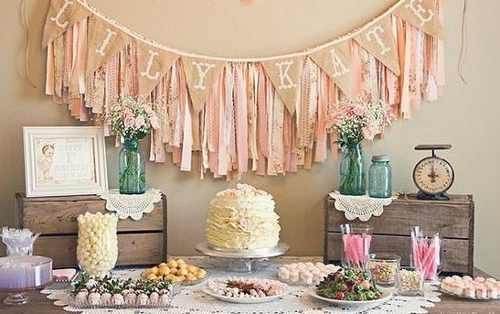 Bautismo Decoracion Vintage ~ ambientaci?n decoraci?n baby shower bautismo vintage shabby