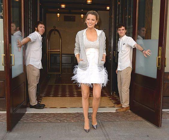 Blake Lively renueva su título de 'premamá estilosa'