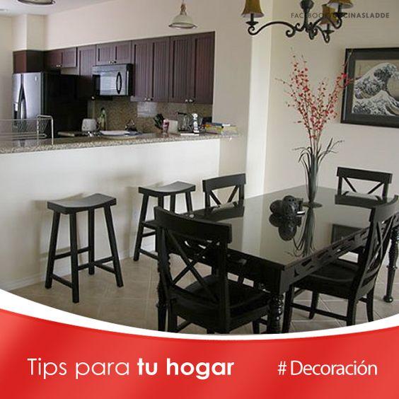 Ideas para decorar una cocina peque a puedes hacer una - Decorar cocina comedor ...