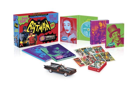 Batman: The Complete Television Series Limited Edition will hit shelves on Blu-Ray on November 11th for $269.97 and comes with a bunch of extras but if tha