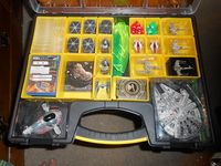 My Non Plano Storage Solution Star Wars X Wing Miniatures