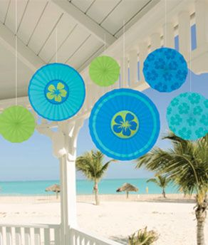 Share CoolGlow with you Friends and Receive 5% on your order.  Cool Paper Fan Decorations- 6ct - Coolglow.com #http://pinterest.com/coolglow/