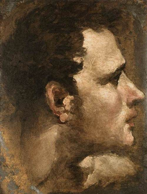 Domenico di Pace Beccafumi - Head of a Young Man c.1529-35