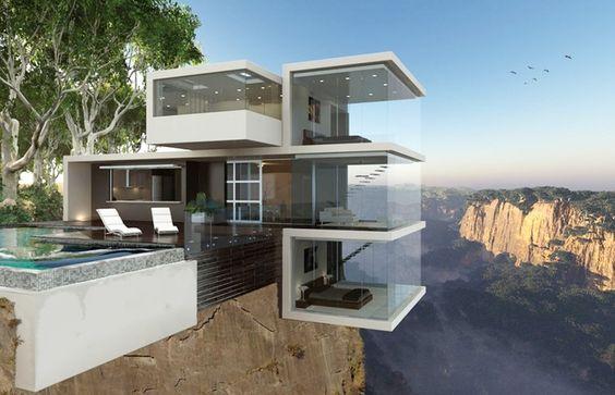 Ngôi nhà trên vách đá