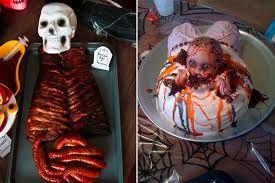 Resultado de imagem para bolos de festa horripilantes