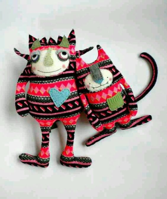 Monsters! By sweet poppy cat