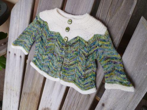 Taiga Hilliard Designs--Taiga Hilliard--The Every Baby Sweater (birth - age 1)