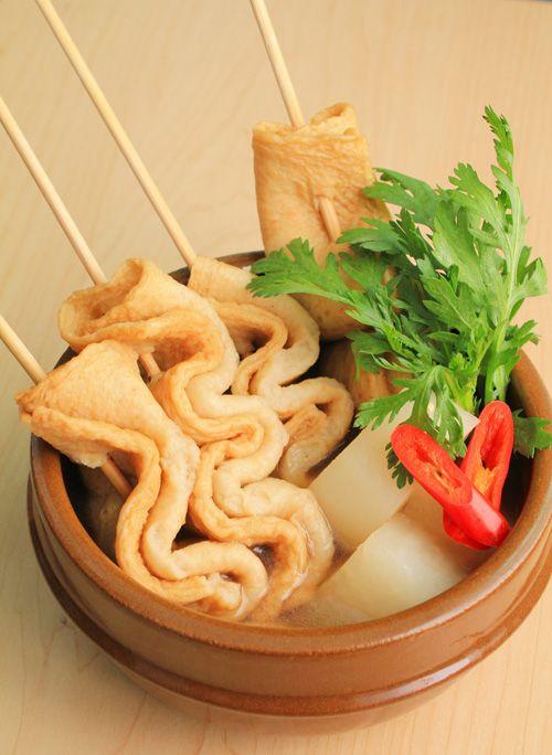 Món súp bánh cá xiên ở Hàn Quốc