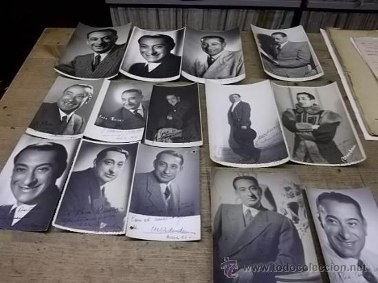 1552.- MARCOS REDONDO - FOTOGRAFIAS DEDICADAS