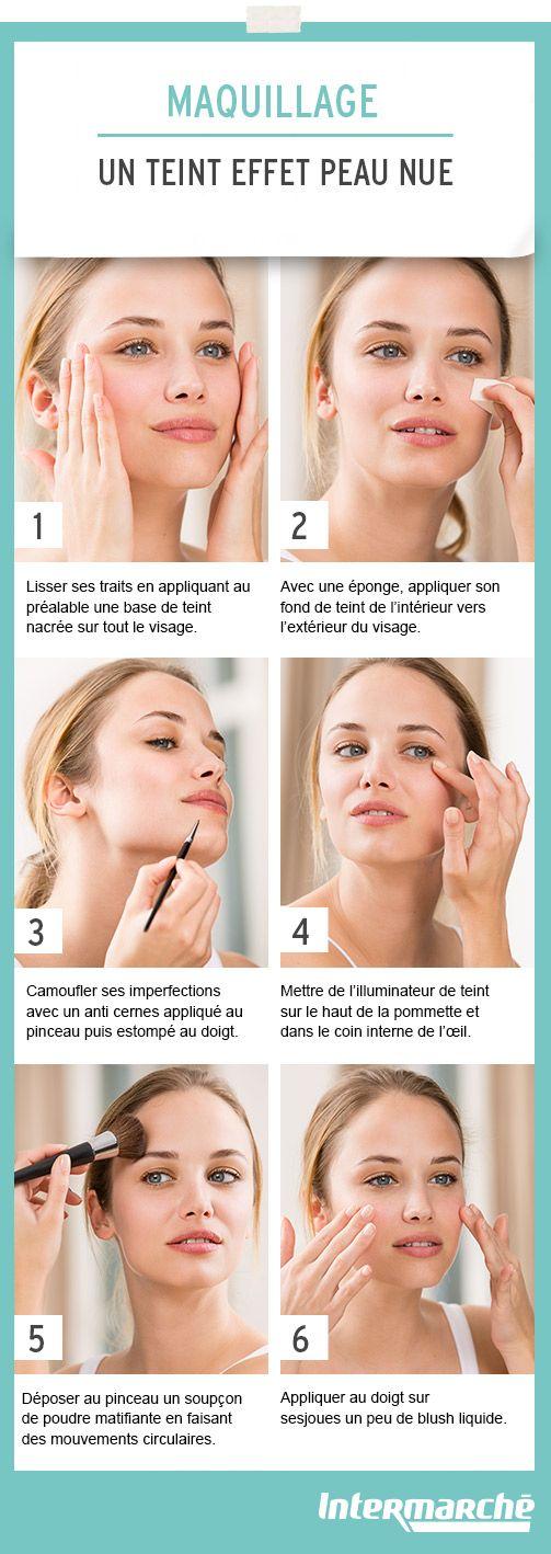 Obtenez en quelques gestes un teint effet peau nue. #tutoriel