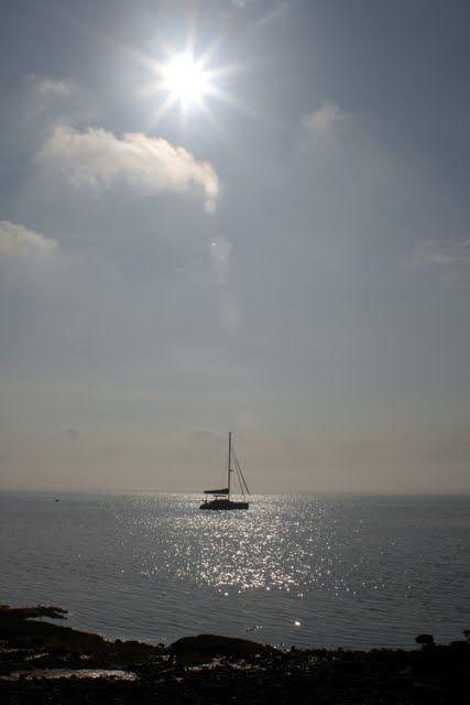 Moored in Narragansett Bay © Jim Feldman