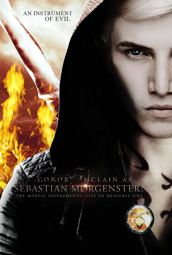 Jonathan Morgenstern, The Mortal Instruments. This would be a great actor. He made me think Sebastian. Totally what I imagined him like. Evil. He's just not seraph blade or rune worthy so get those off of him. Now.: