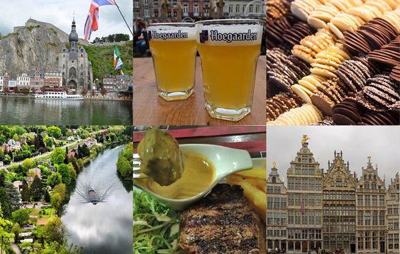 Razões para visitar a Bélgica