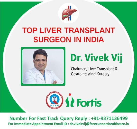 Dr Vivek Vij Liver Transplant Surgeon in Noida