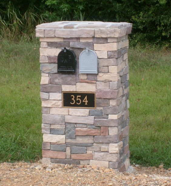 brick mailbox design ideas house ideas stone veneer brick mailboxes inspiration design brick mailbox design