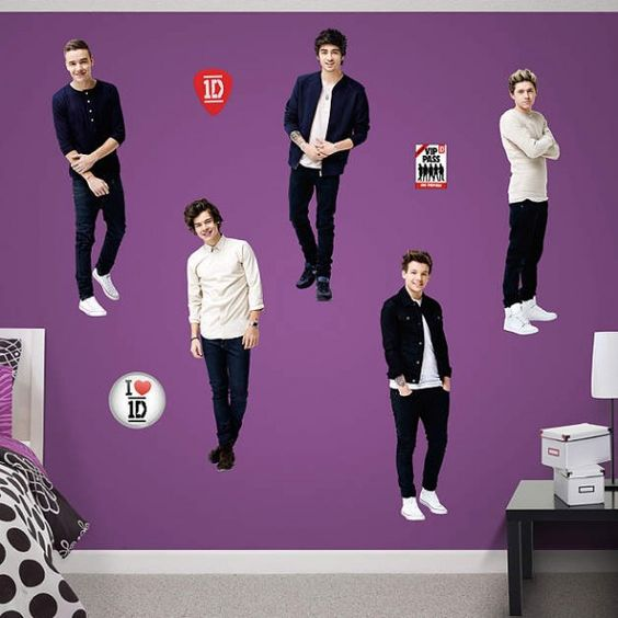 Enter to WIN a One Direction Fathead from ProfessionalFangirls.com!!!