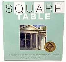 Square Table. I've been wanting this cookbook for years and just haven't done it.
