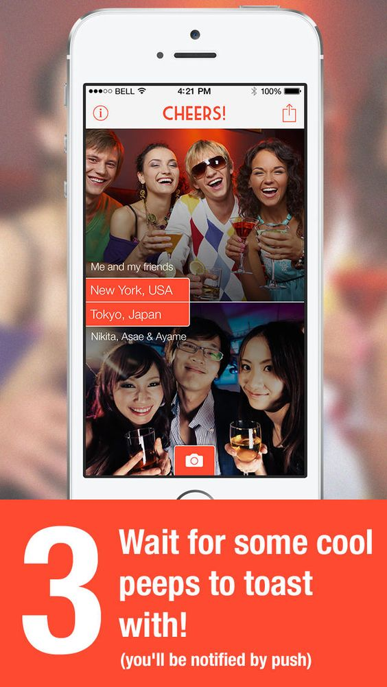 Cheers! app for iPhone – App Review