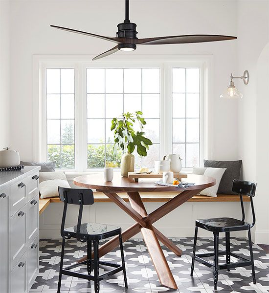 Yay Or Nay Ceiling Fan Over The Dining Table Ceiling Fan In