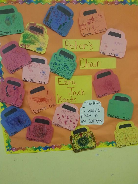 Keats Lesson Plans: Peter's Chair
