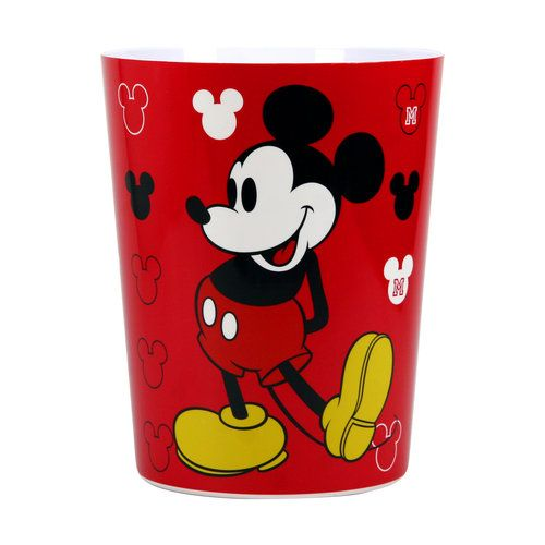 Mickey Mouse Decorative Bath Collection Wastecan Disney Disney Mickey Mouse And Mice