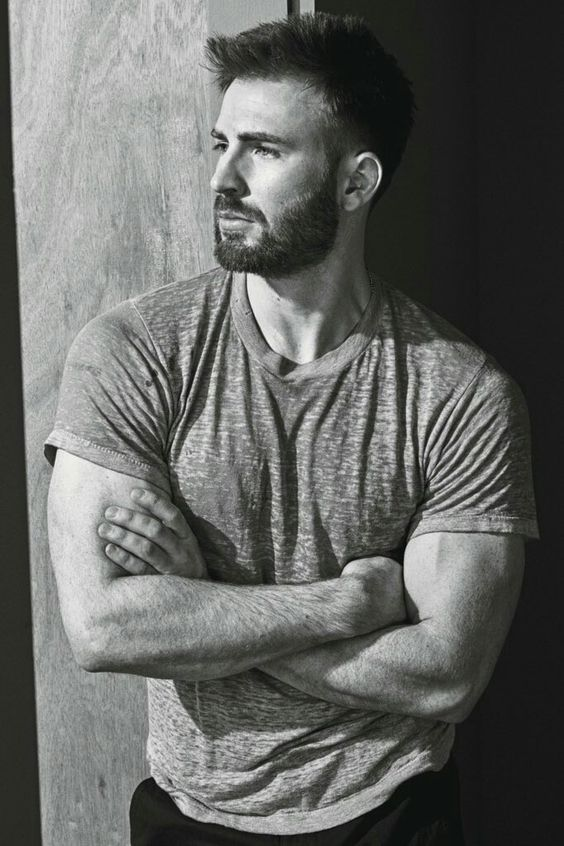 "Chris Evans in the October 2016 issue of ""W"" magazine. 💕💕💕"