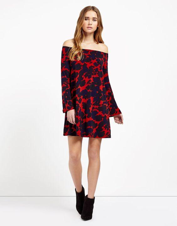 Swing Bardot dress