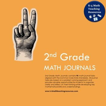 2nd Grade Math Journals contains 90 problem solving tasks designed to develop key mathematical skills, concepts and understandings. All tasks are aligned with the Common Core State Standards for Mathematics and are formatted so that they can be printed on adhesive address labels (Avery 5160).