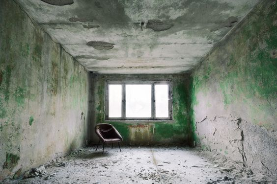 Neglected: By Ralph Graef, more artworks… #Photography #Digital #Construction #Interior #Exhibition