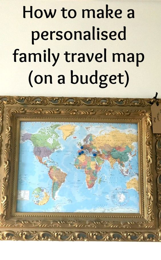 Create your own personalised family travel map – Family Travel Map