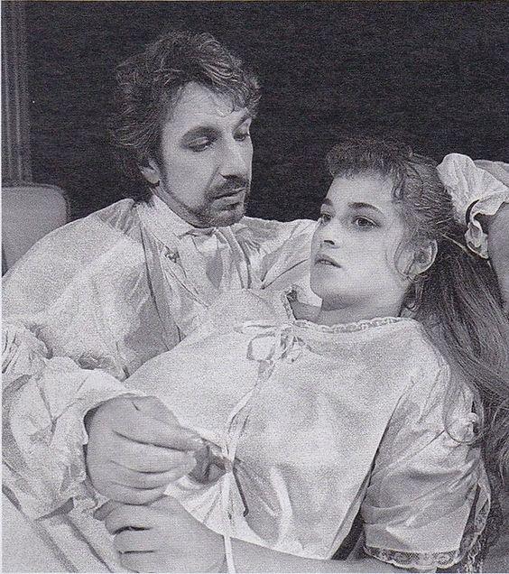 Alan Rickman as Vicomte de Valmont in Les Liaisons Dangereuses #theatre #onstage: