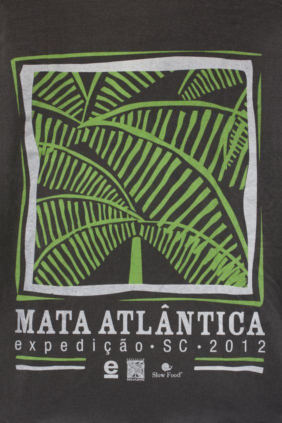 https://flic.kr/p/cJkbU7 | Expedição Mata Atlântica | Arte da T-shirt confeccionada pela marca Osklen para a Expedição Mata Atlântica 2012 - Convivium Slow Food Mata Atlântica