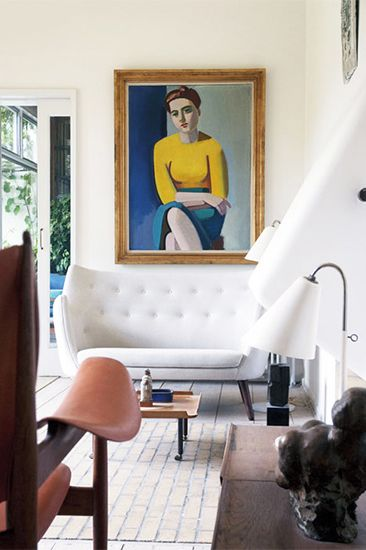 11 Midcentury modern furniture brands you should know // Finn Juhl #sofa #danishmodern