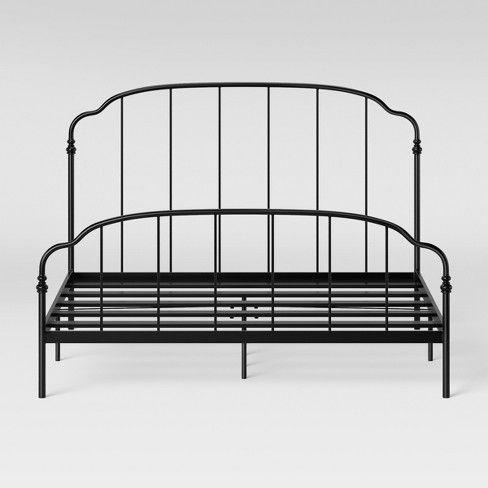 Ferndale Metal Bed Black Threshold, Metal Bed Frame Queen Target