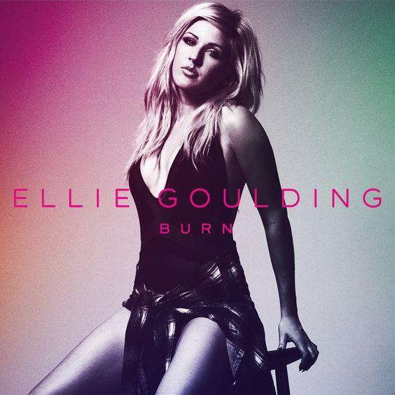 Ellie Goulding – Burn (single cover art)