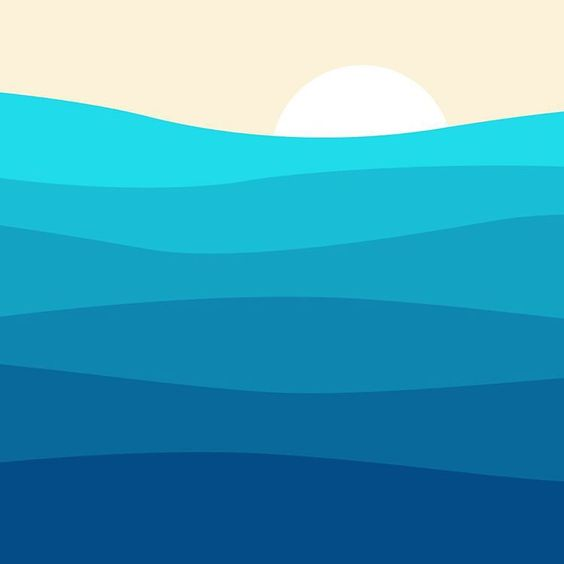 Western Waves #Pacific #GraphicDesign #Illustration #Posters #Prints
