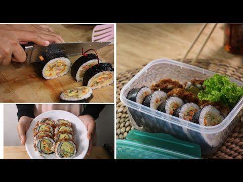 Enak Bgt Resep Kimbab Abon Rumahan Enak Ala Drama Korea Resep Makanan Simple Youtube Di 2020 Resep Makanan Makanan Resep Masakan