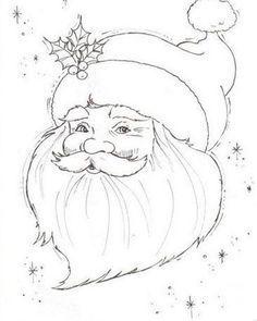 62 Mikulas Sablon14 Pagi Decoplage Weihnachtsmalvorlagen Weihnachten Zeichnen Weihnachtsmann Zeichnen