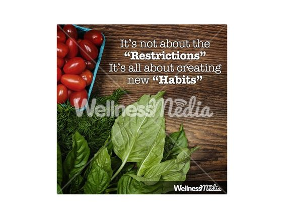 Creating new healthy nutrition habits
