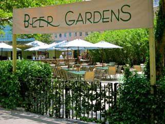 Battery Gardens Beer Garden Park Caf Pinterest Giardini