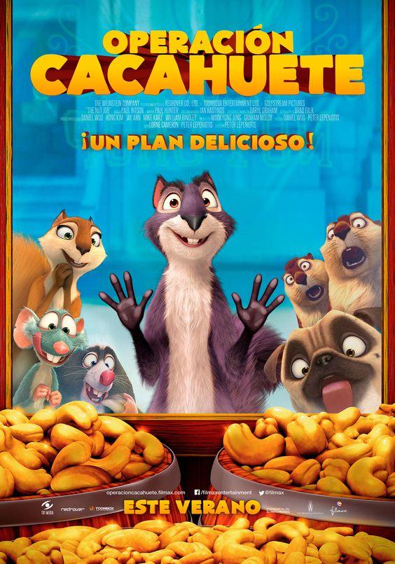 Operación cacahuete - Peter Lepeniotis: #infantil #animació http://sinera.diba.cat/record=b1782243~S9*cat