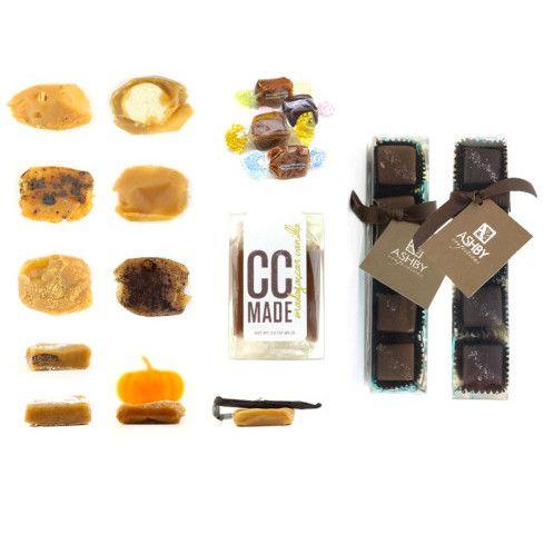 logo + branding by 603creativestudio.com | caramels by Tahana Confections @treatsiesweets