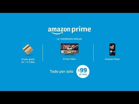 Con Amazon Prime Por Solo 99 Mes Disfruta De Envíos Gratis Series Películas Y Música Youtube Youtube