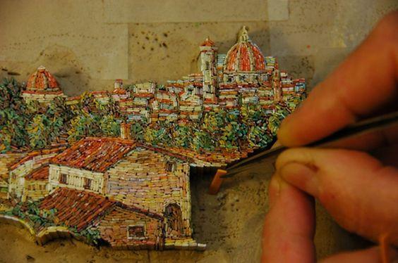 making a micro-mosaic
