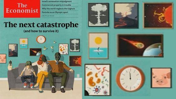 """De """"sinistere voorspelling"""" van The Economist: The next catastrophe 31"""