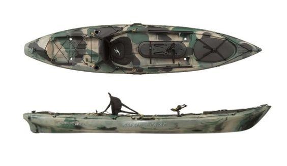 Ocean kayak trident 11 5 fishing kayak review fishing for Fishing kayaks reviews