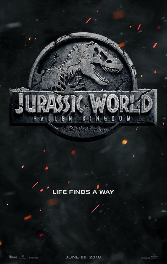 Jurassic World 2 Poster Reveal Jurassic World Poster Michael Crichton