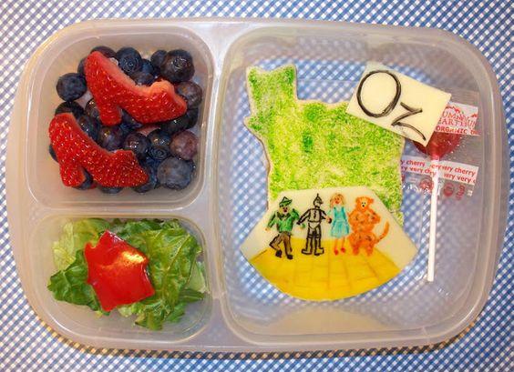 The Wizard of Oz lunch blog hop in @Kelly Teske Goldsworthy Teske Goldsworthy Lester / EasyLunchboxes