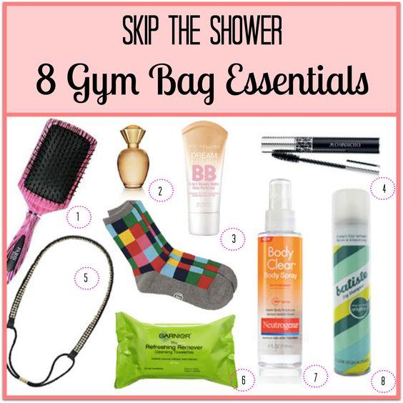 170 Best Images About Gym Essentials On Pinterest: Gym Bag Essentials To Skip The Shower